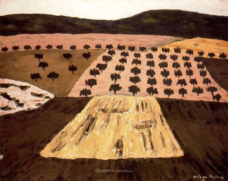 质朴的风景,干燥土地上重复着的孤木!插图31