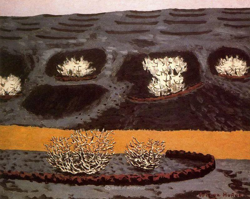 质朴的风景,干燥土地上重复着的孤木!插图37