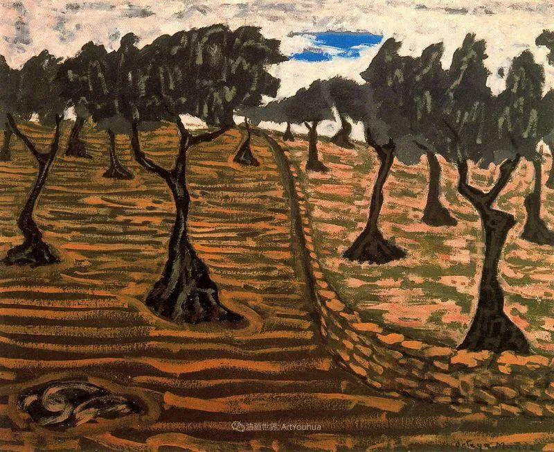 质朴的风景,干燥土地上重复着的孤木!插图41