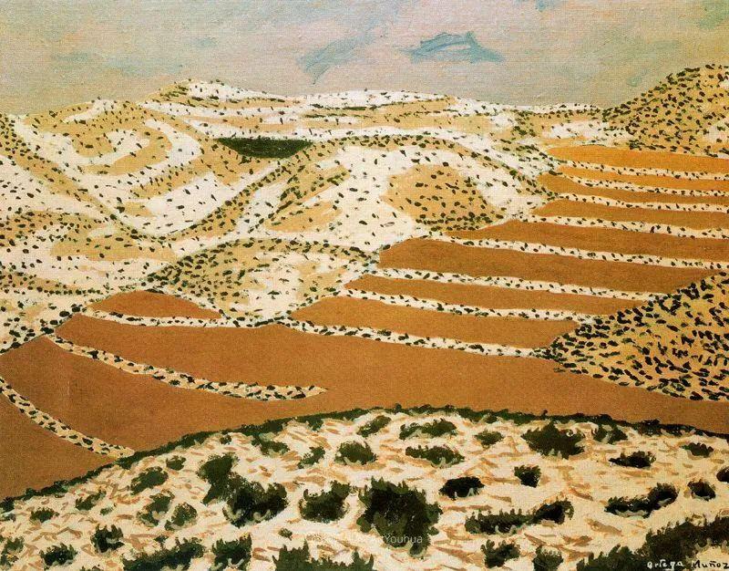 质朴的风景,干燥土地上重复着的孤木!插图53