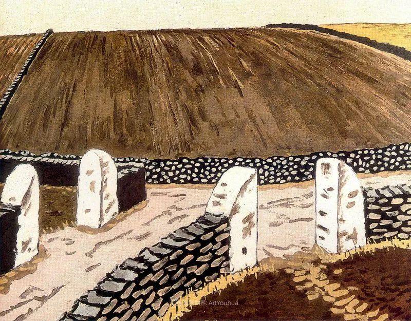 质朴的风景,干燥土地上重复着的孤木!插图59