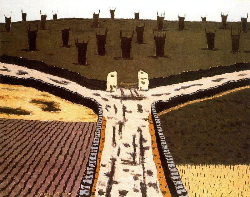 质朴的风景,干燥土地上重复着的孤木!插图61