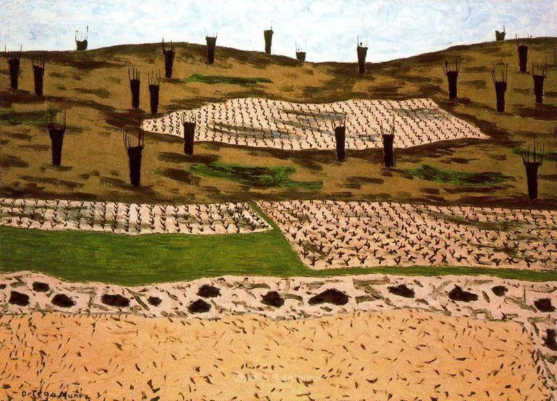 质朴的风景,干燥土地上重复着的孤木!插图71