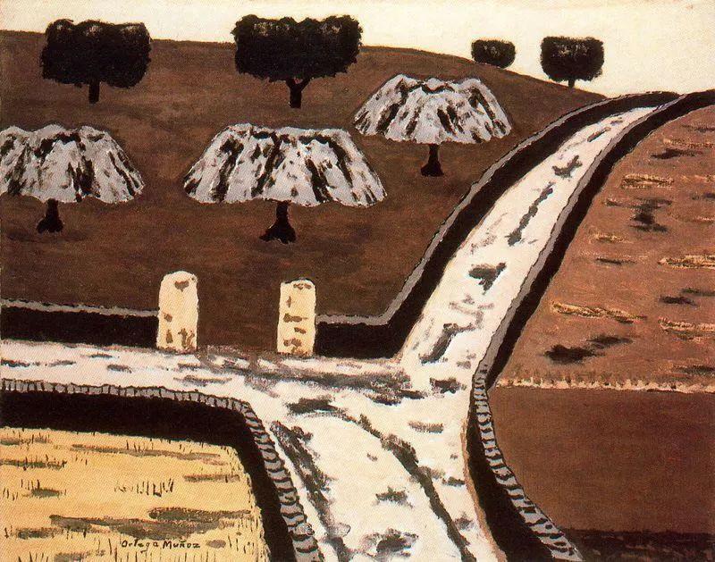 质朴的风景,干燥土地上重复着的孤木!插图73