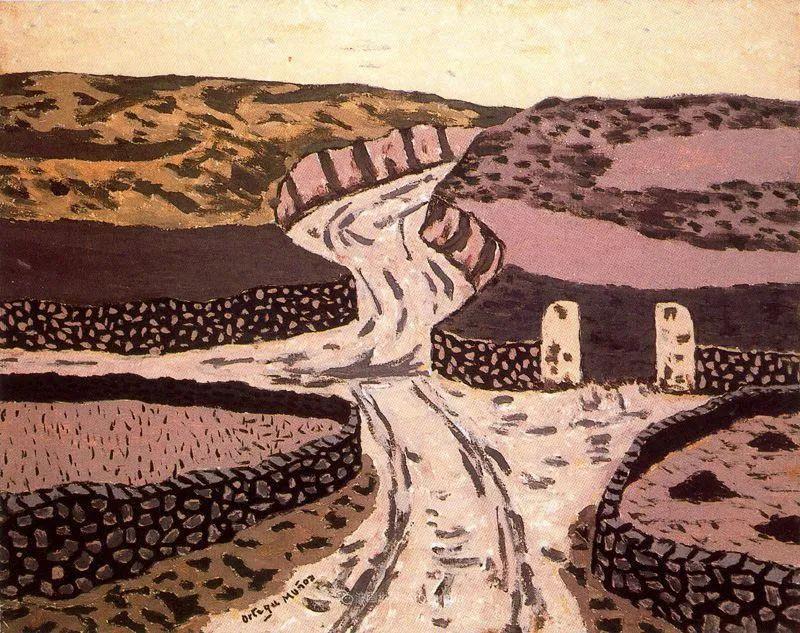 质朴的风景,干燥土地上重复着的孤木!插图75