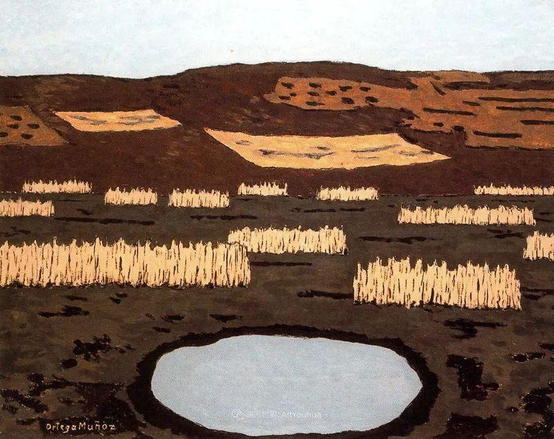 质朴的风景,干燥土地上重复着的孤木!插图79