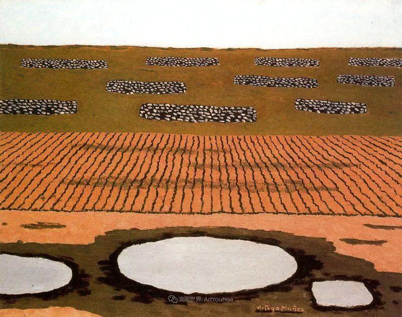 质朴的风景,干燥土地上重复着的孤木!插图82