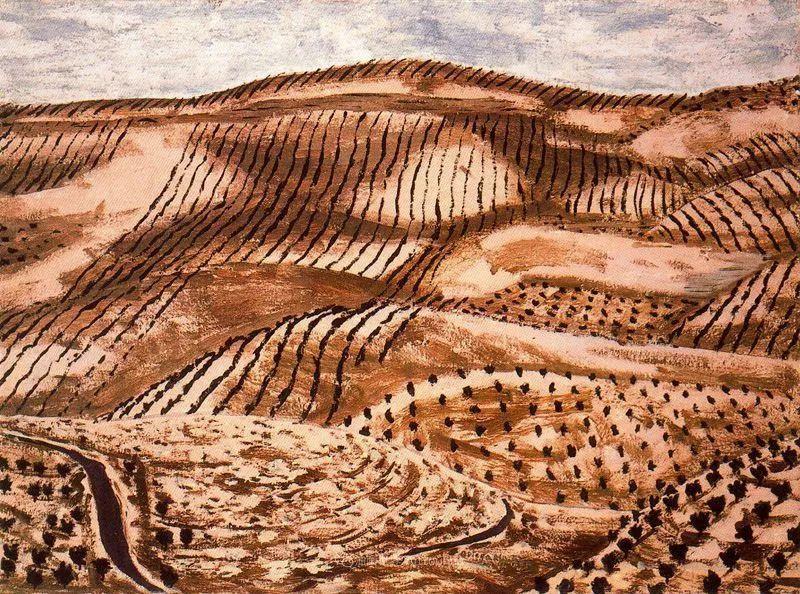 质朴的风景,干燥土地上重复着的孤木!插图84