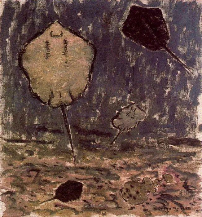 质朴的风景,干燥土地上重复着的孤木!插图92