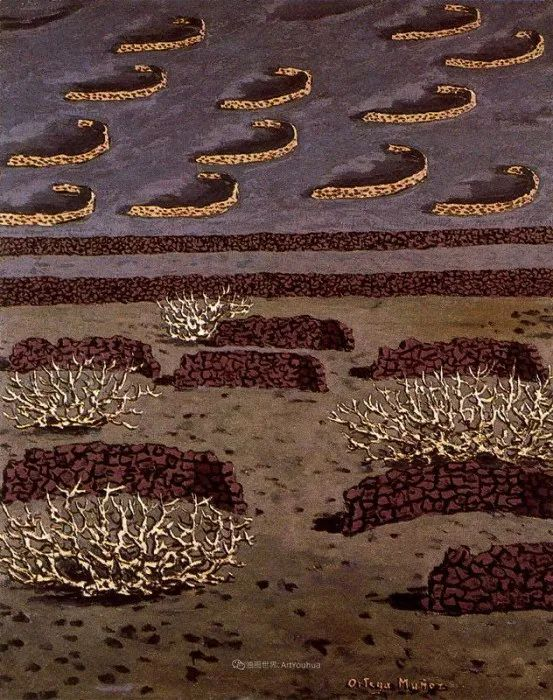 质朴的风景,干燥土地上重复着的孤木!插图123