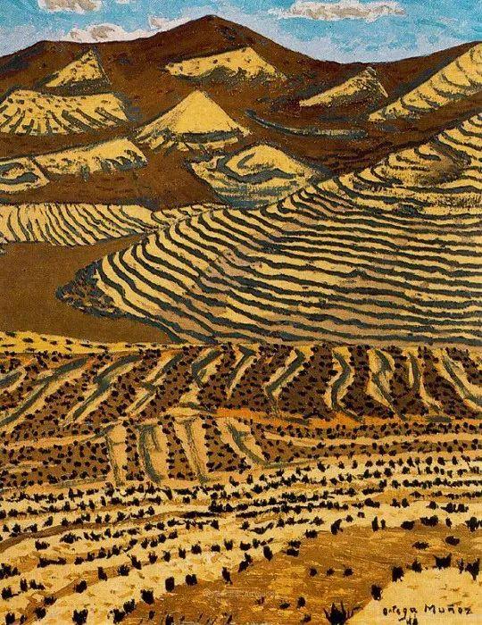 质朴的风景,干燥土地上重复着的孤木!插图125