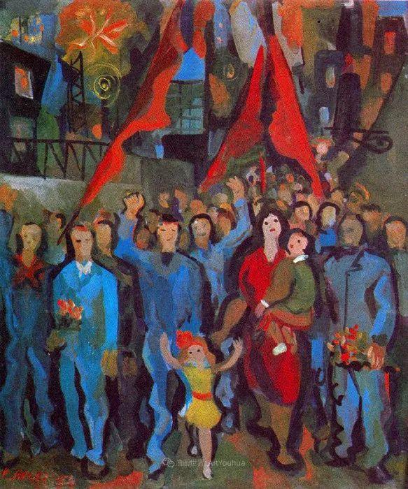 意大利画家保罗·里奇作品欣赏插图1