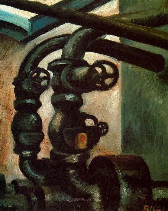 意大利画家保罗·里奇作品欣赏插图29