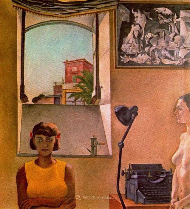 意大利画家保罗·里奇作品欣赏插图53