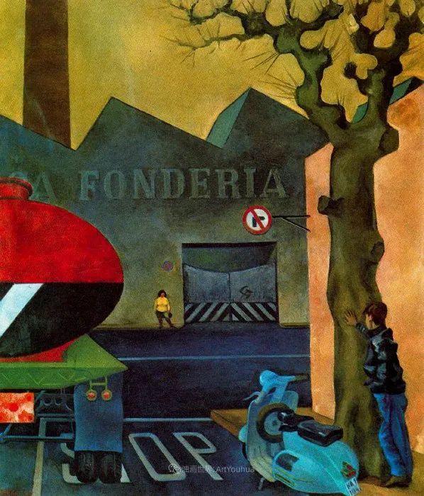 意大利画家保罗·里奇作品欣赏插图59