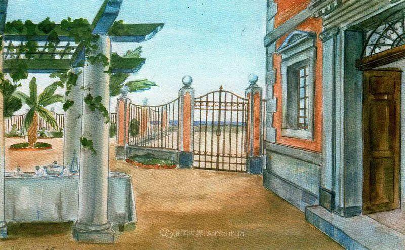意大利画家保罗·里奇作品欣赏插图61