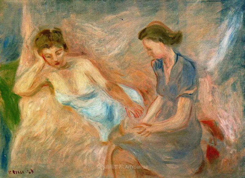 意大利画家保罗·里奇作品欣赏插图67