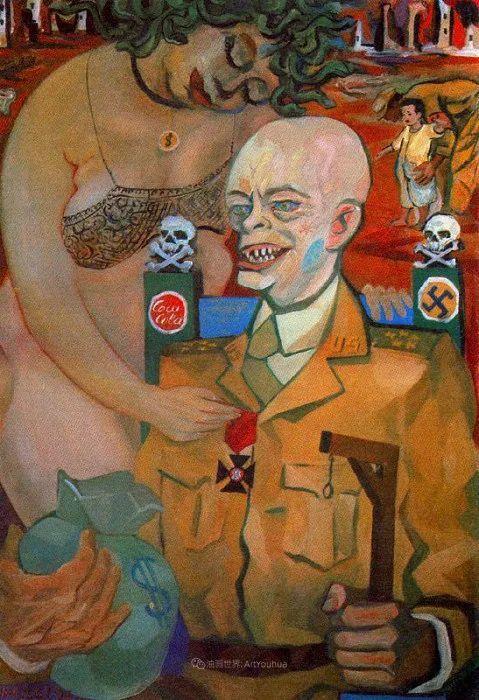 意大利画家保罗·里奇作品欣赏插图85