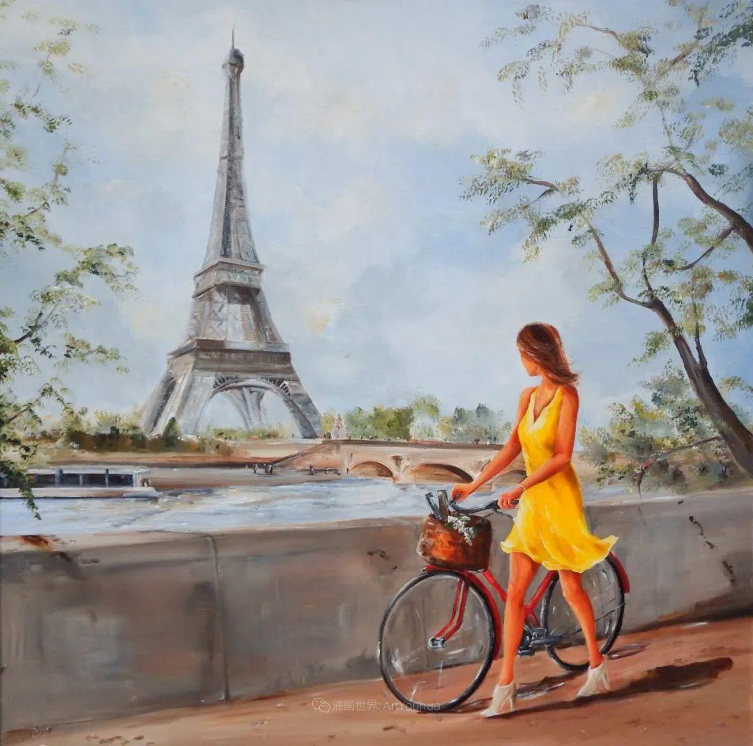 穿黄裙的女人,无忧无虑,轻盈美丽!插图5