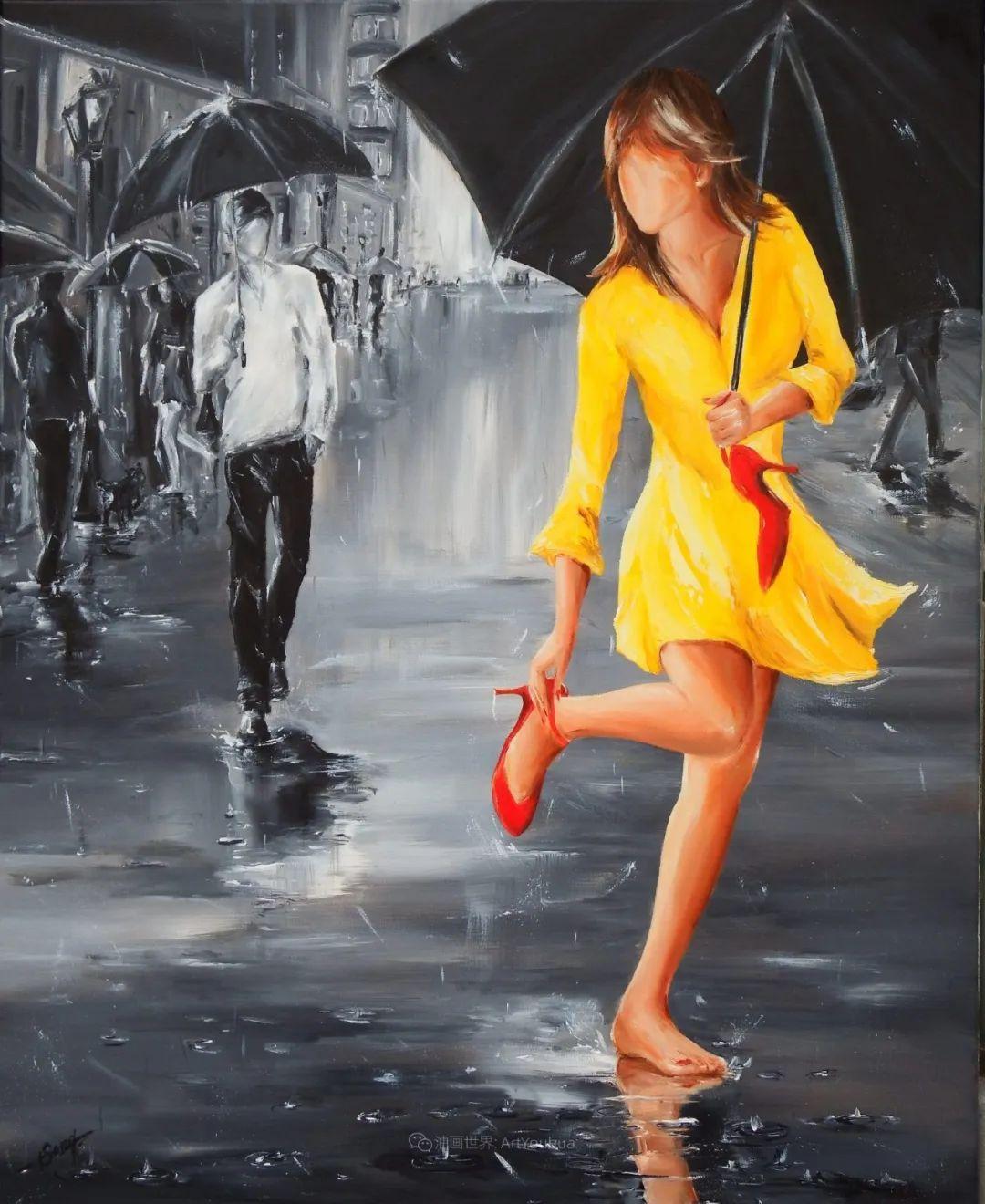 穿黄裙的女人,无忧无虑,轻盈美丽!插图12