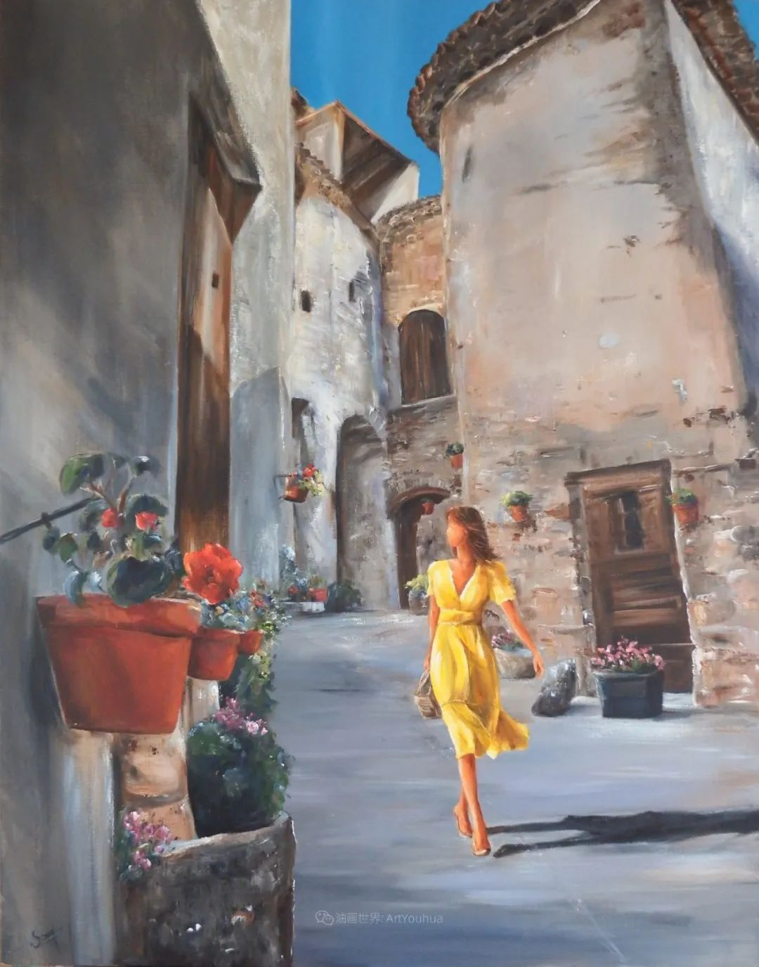 穿黄裙的女人,无忧无虑,轻盈美丽!插图15