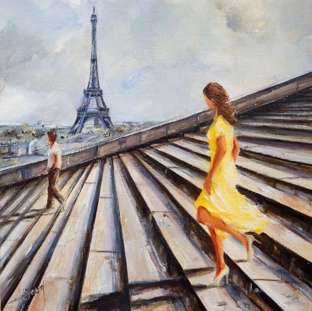 穿黄裙的女人,无忧无虑,轻盈美丽!插图26