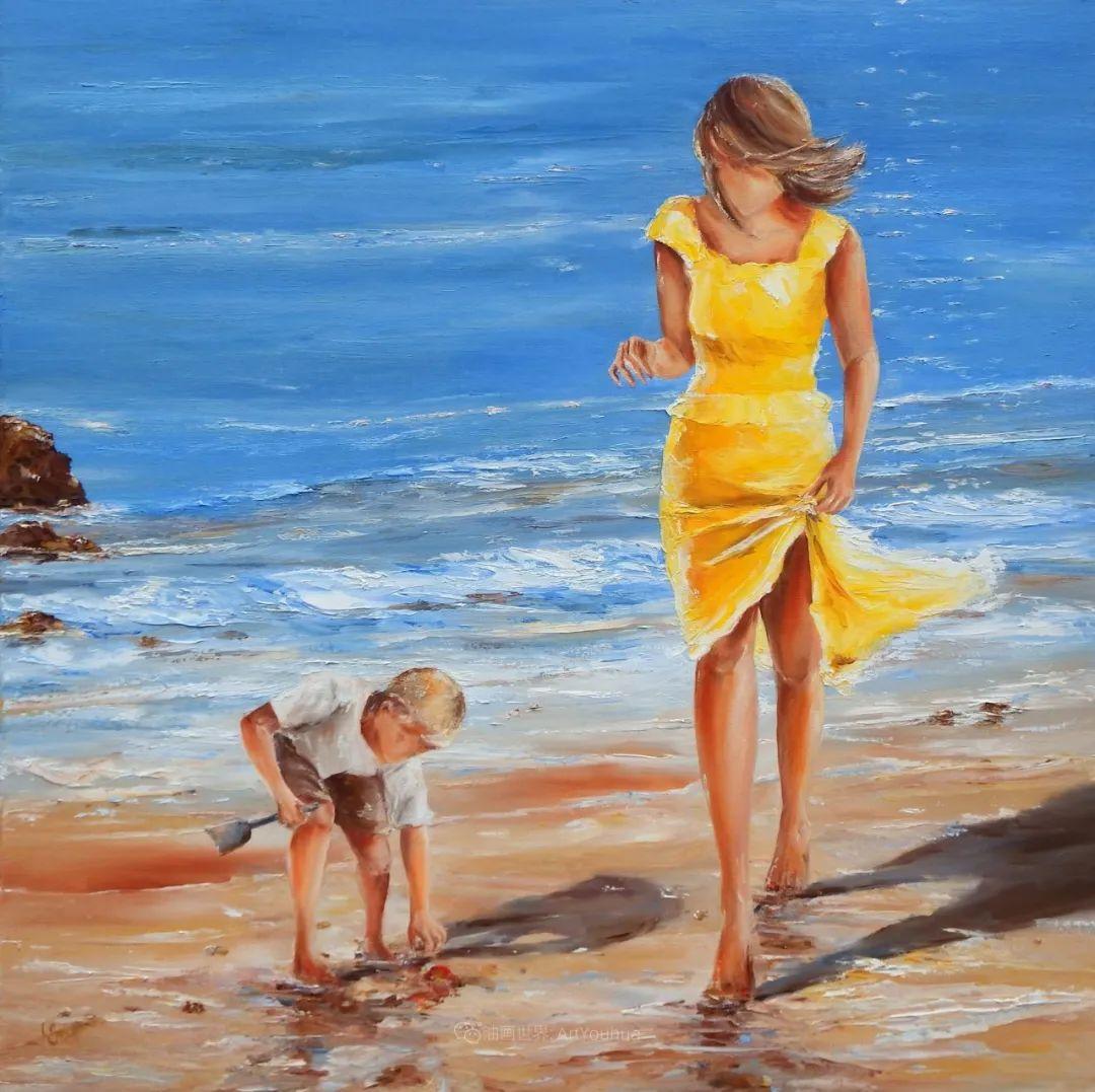 穿黄裙的女人,无忧无虑,轻盈美丽!插图34