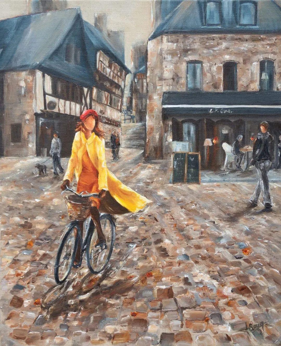 穿黄裙的女人,无忧无虑,轻盈美丽!插图41