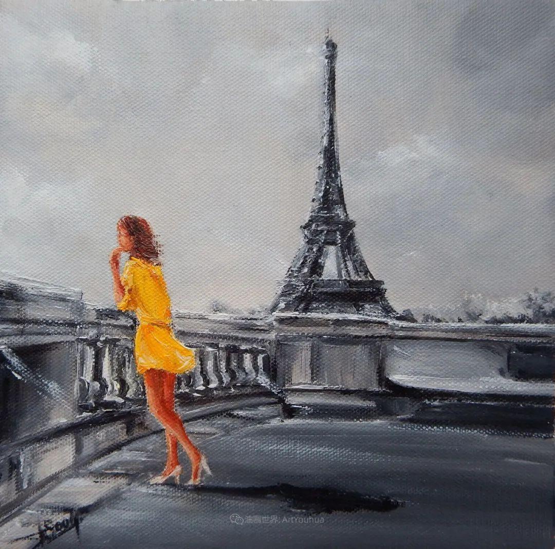 穿黄裙的女人,无忧无虑,轻盈美丽!插图44