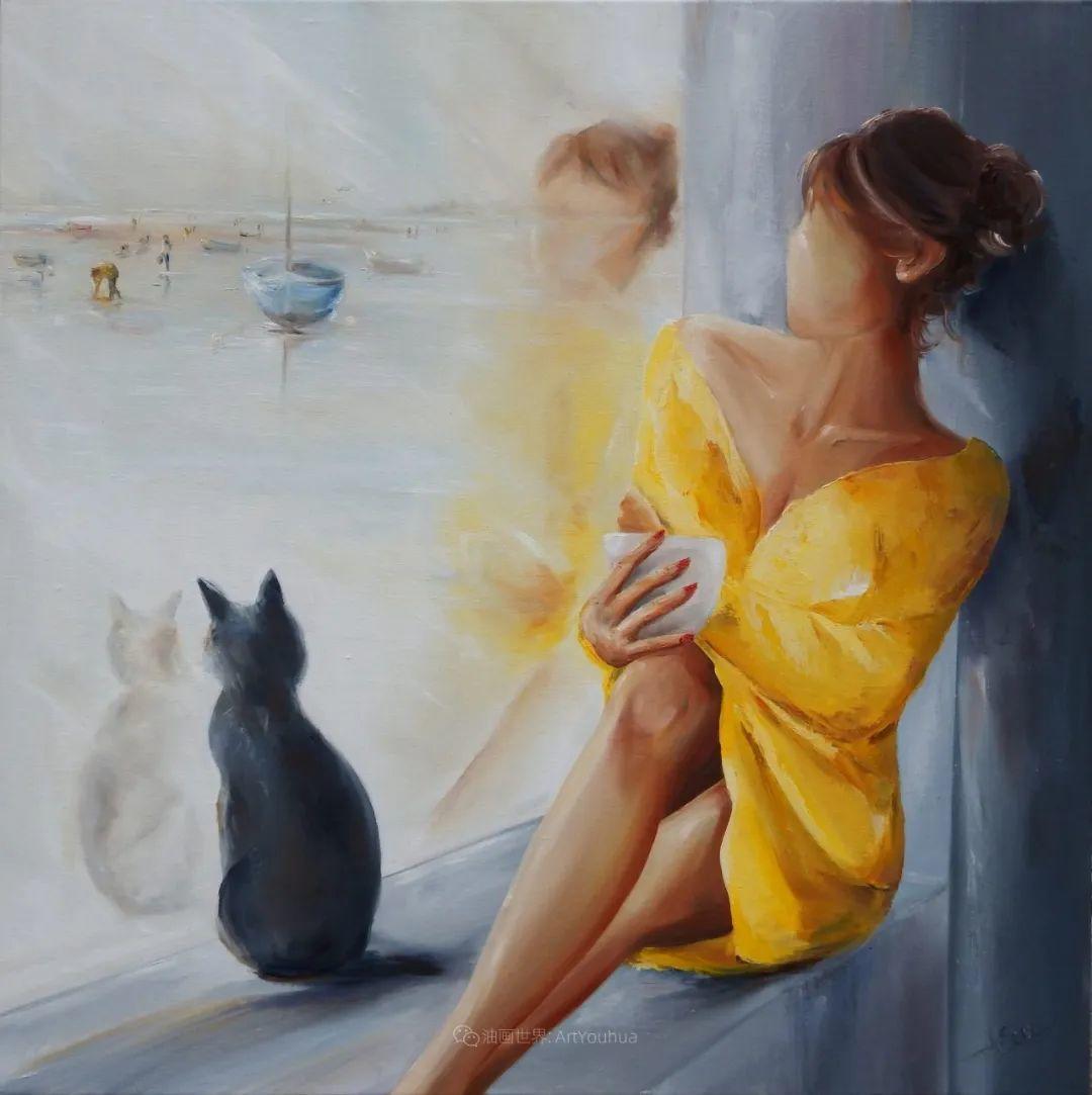 穿黄裙的女人,无忧无虑,轻盈美丽!插图45