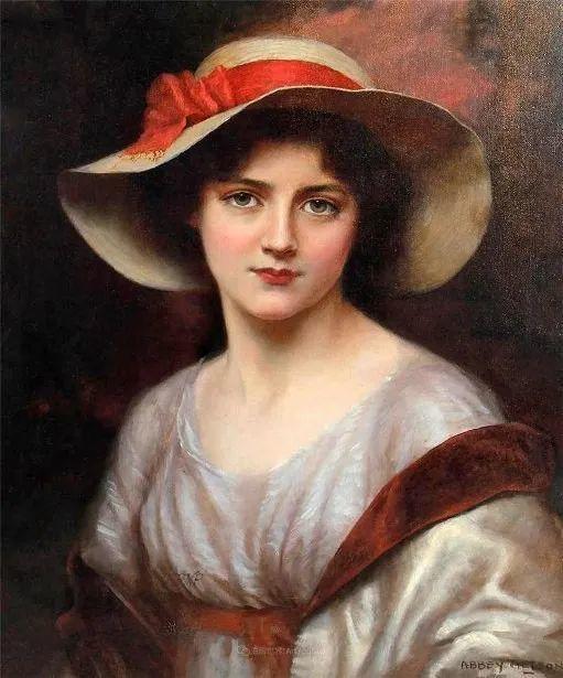 英国古典大师笔下,少女的肤色和薄纱,细腻柔和!插图18