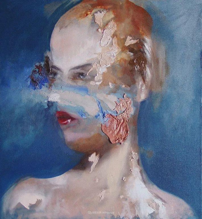 """诠释""""易碎""""人体,哥伦比亚画家耶苏斯·莱吉扎莫插图9"""