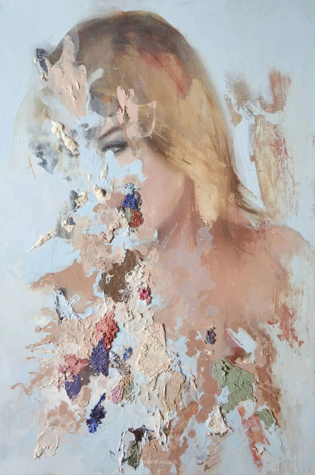 """诠释""""易碎""""人体,哥伦比亚画家耶苏斯·莱吉扎莫插图11"""