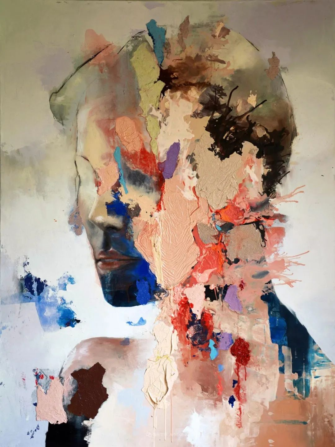 """诠释""""易碎""""人体,哥伦比亚画家耶苏斯·莱吉扎莫插图41"""