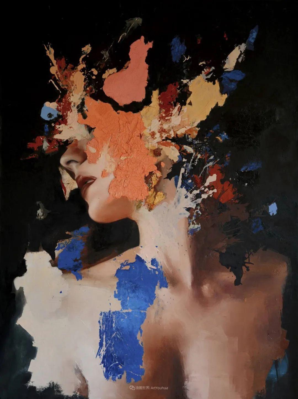"""诠释""""易碎""""人体,哥伦比亚画家耶苏斯·莱吉扎莫插图47"""