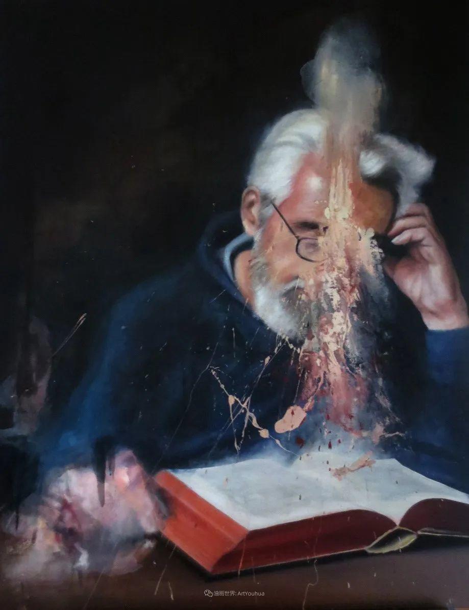 """诠释""""易碎""""人体,哥伦比亚画家耶苏斯·莱吉扎莫插图57"""