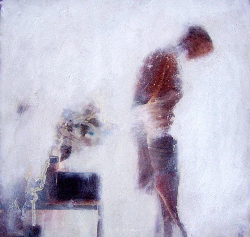 """诠释""""易碎""""人体,哥伦比亚画家耶苏斯·莱吉扎莫插图71"""