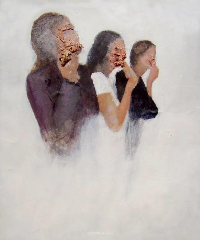 """诠释""""易碎""""人体,哥伦比亚画家耶苏斯·莱吉扎莫插图93"""