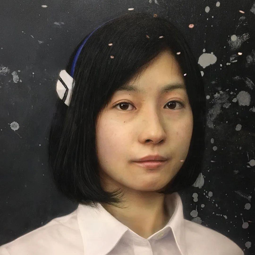 描绘瑕疵的耽美,日本写实画家石黑贤一郎插图5