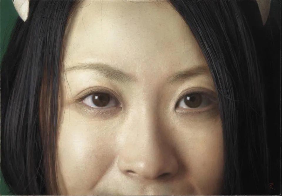 描绘瑕疵的耽美,日本写实画家石黑贤一郎插图11