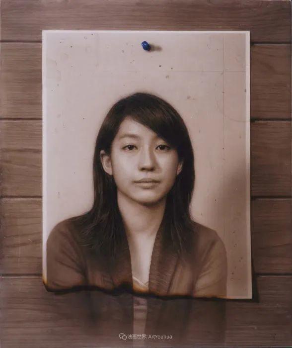 描绘瑕疵的耽美,日本写实画家石黑贤一郎插图19