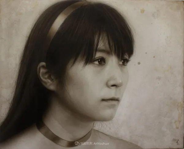 描绘瑕疵的耽美,日本写实画家石黑贤一郎插图25