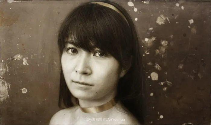 描绘瑕疵的耽美,日本写实画家石黑贤一郎插图27