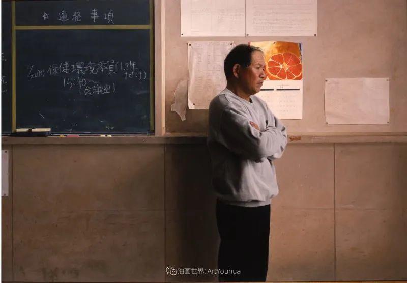 描绘瑕疵的耽美,日本写实画家石黑贤一郎插图35