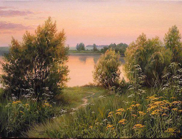 80后俄罗斯画家写实风景,美如画!插图1