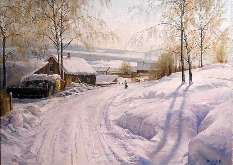 80后俄罗斯画家写实风景,美如画!插图35