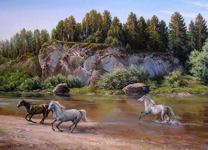 80后俄罗斯画家写实风景,美如画!插图41