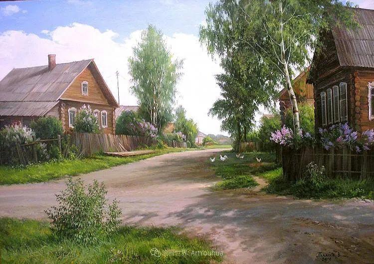 80后俄罗斯画家写实风景,美如画!插图51