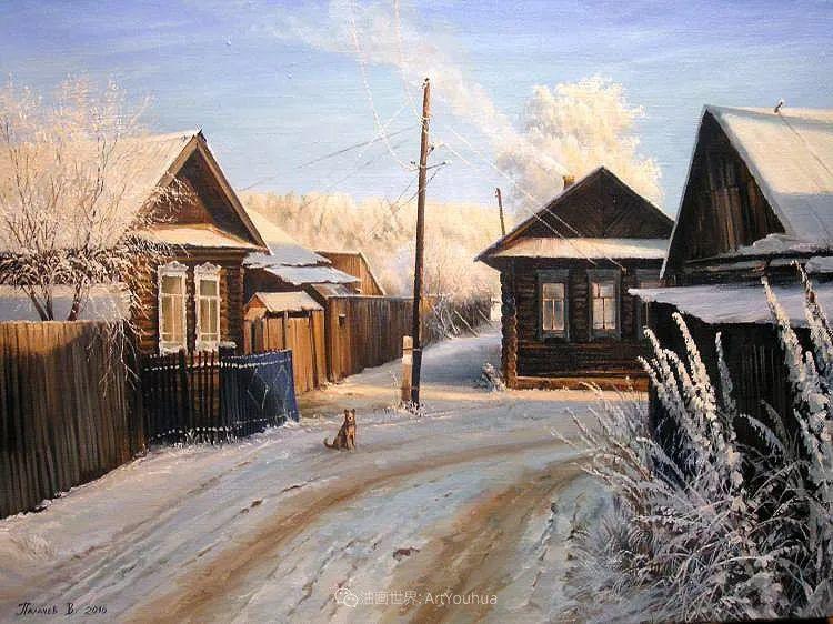80后俄罗斯画家写实风景,美如画!插图53