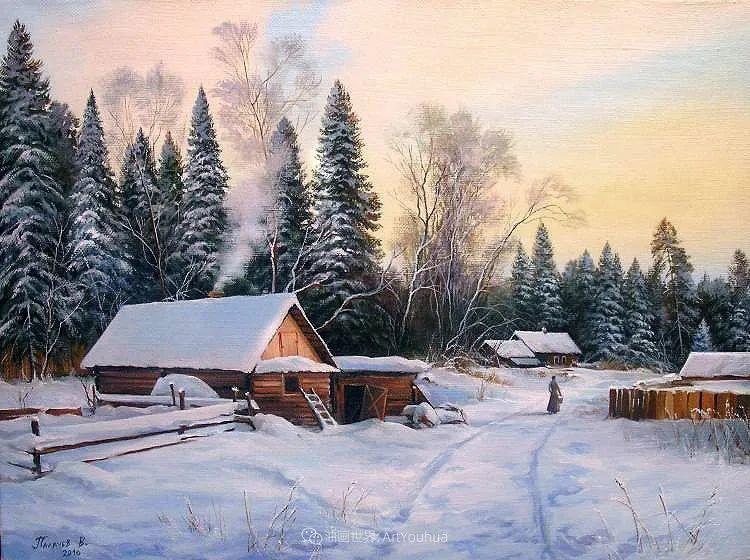 80后俄罗斯画家写实风景,美如画!插图55